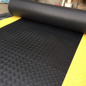 Anti-Static Mat With Warning Edge